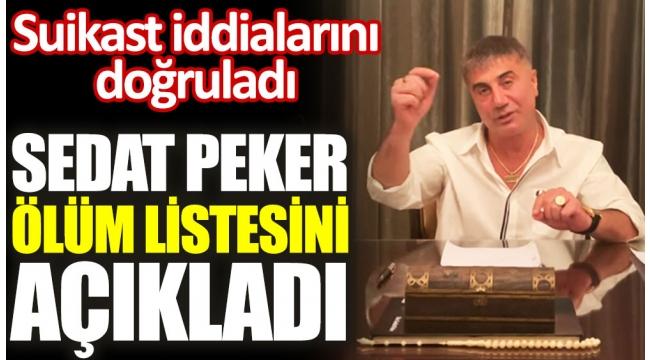 """Sedat Pekerden ölüm listesi ve suikast iddiası! """"Muhalif gazeteciler de yer alıyor!"""""""
